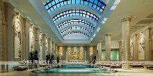 霍山雅典花园酒店设计(五星级)-游泳池